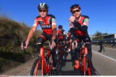 Cycling: Team BMC Racing Team  2017Greg VAN AVERMAET (BEL) / Danilo WYSS (SUI) /Team BMC (Usa)/ ©Tim De Waele