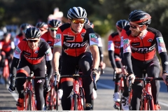 Cycling: Team BMC Racing Team  2017Richie PORTE (AUS) / Greg VAN AVERMAET (BEL) / Danilo WYSS (SUI)/Team BMC (Usa)/ ©Tim De Waele